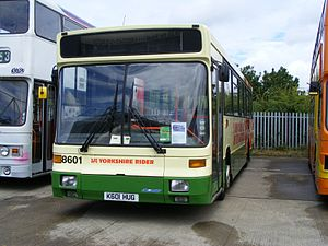 First West Yorkshire - Preserved Alexander Strider bodied Scania N113