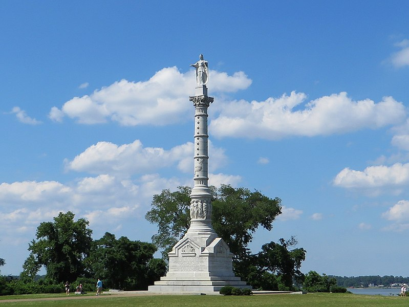 File:Yorktown Victory Monument, Colonial National Historic Site, Yorktown, Virginia (14239327850).jpg
