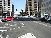 Recently re-opened Federal Street
