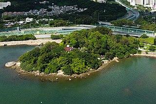 Yuen Chau Tsai Island in Hong Kong