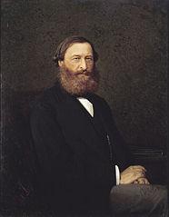 Portrait of the writer Y.F. Samarin