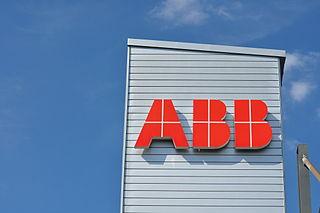 ABB Swedish-Swiss robotics and electrical equipment company