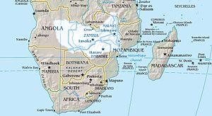 Zambezi river basin.