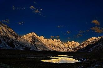 Zaskar Range - Image: Zanskar mountain range