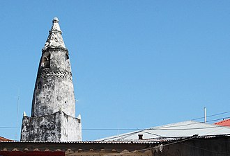 Islam in Africa - Minaret of the Malindi Mosque in Stone Town, Zanzibar