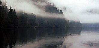 Zeballos, British Columbia - View in Zeballos harbour