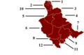 Zenica-doboj canton municipalities.png