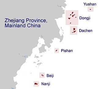 Chekiang Province, Republic of China - Chekiang Province of the Republic of China, between 1949 and 1955.