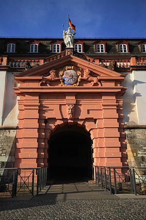 Mainz Citadel - The Main Gate of the Citadel