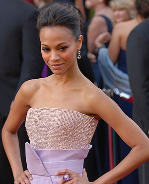 "Zoe Saldana, Neytiri from ""Avatar"", ..."