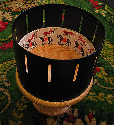 https://upload.wikimedia.org/wikipedia/commons/thumb/9/99/Zoetrope.jpg/440px-Zoetrope.jpg