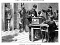 """""""Interior of polling booth"""" - David Syne and Co (1880).jpg"""