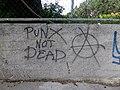 """""""Punx Not Dead"""" Graffiti in Gdansk.jpg"""