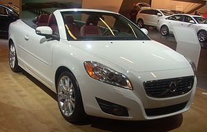 2011 Volvo C70 photographed in Montreal, Quebe...