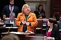 (03-04-19) NY State Senator Liz Krueger during Senate Session at the NY State Capitol, Albany NY.jpg