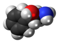 (S)-Phenylethanolamine molecule spacefill.png