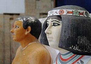 Ägyptisches Museum Kairo 2016-03-29 Rahotep Nofret 04.jpg