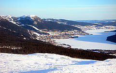 Åresjön in winter