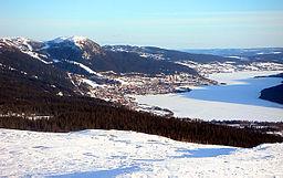 Den centrale og østlige del af Åredalen, set fra Tegebjerget (2003).