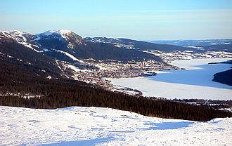 Åre Municipality - Image: Åresjön Dcastor 2003