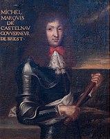 École française 1680c Portrait de Michel de Castelnau gouverneur de Brest.jpg