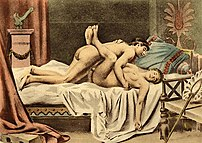 The missionary position of human sexual interc...
