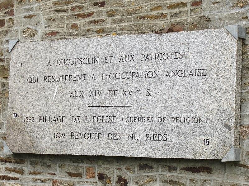 église Sainte-Trinité de fr:La Croix-Avranchin