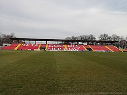 Čačak Stadium East Stand (Field View).jpg
