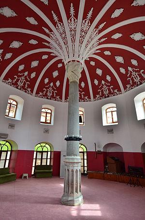 Cemevi - Interior of the historical Şahkulu Sultan Dergahi Cemevi in Kadıköy, Istanbul.