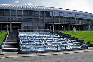 Kaftanzoglio Stadium - Outside view