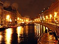 Вид на Мойку с Зелёного моста в сторону Певческого моста. 2006.jpg