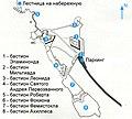 Греция, Нафплион - Схема крепости Паламиди.jpg