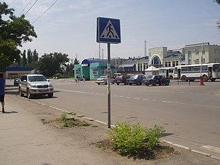 Dzhankoi City in Crimea, Disputed between Russia and Ukraine