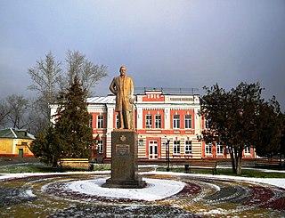 Shebekino Town in Belgorod Oblast, Russia