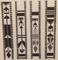 Растительный орнамент на женских тканых поясах. Карин. Конец XIX в..png