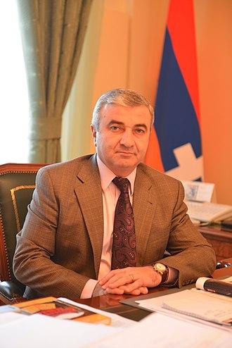 Nagorno-Karabakh parliamentary election, 2015 - Image: Աշոտ Ղուլյան