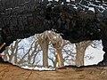 بارش برف در روستای جاسب قم- قله ولیجیا 08.jpg