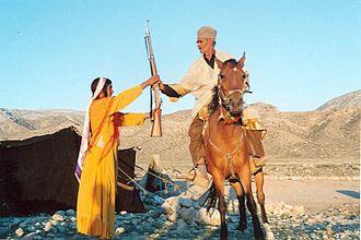 Qashqai people - Qashqai Hunter and his wife