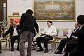 สมาคมผู้ประกอบวิชาชีพสื่อมวลชนพบนายกรัฐมนตรี ณ ห้องสีม - Flickr - Abhisit Vejjajiva (3).jpg