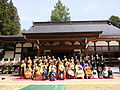 槻岡寺の晋山式.JPG