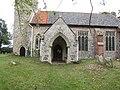 -2020-08-23 Porch, North elevation, Saint Peter and Saint Paul Church, Sustead, Norfolk.JPG