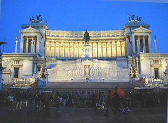 Culture of Rome, Italy - Monument to Vittorio Emanuele II