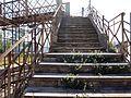 011 Pont de ferro sobre la via del tren (Centelles), accés des de la banda oest.jpg
