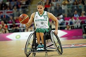 Clare Nott - Nott at the 2012 London Paralympics