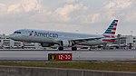02092017 American Airlines A321 N151UW KMIA NASEDIT (42975765061).jpg