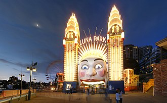 Milsons Point, New South Wales - Luna Park at Milsons Point