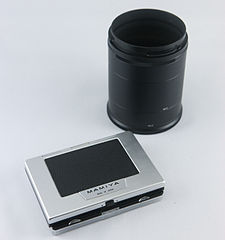 0511 Mamiya Universal Super 233 Extension tube and ground glass kit (7159519318).jpg
