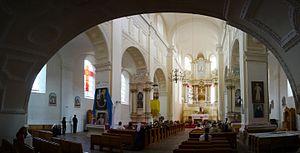 Druya - Divine service in the Sapiezhyn church