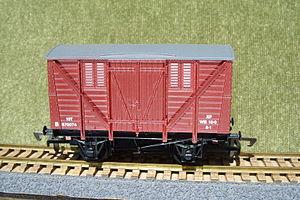 Dapol - Dapol B26 OO scale wagon 10 ton BR meat wagon