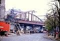 098L22101182 Vorortelinie, Neubau der Brücke über die Hernalser Hauptstrasse, Seite stadteinwärts.jpg